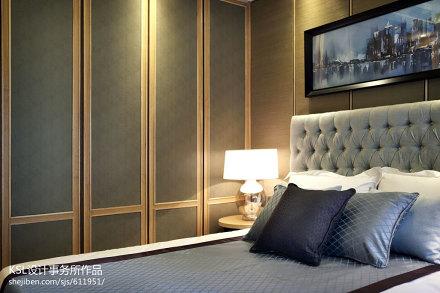 热门中式卧室装修实景图