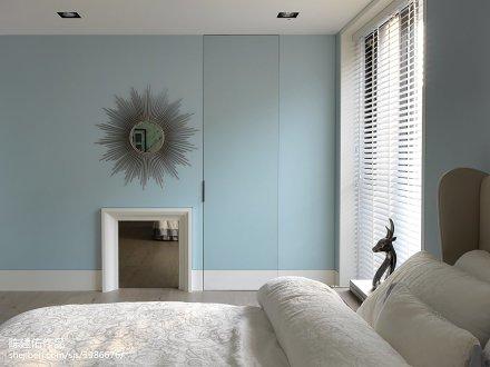 热门89平米二居卧室现代装修效果图片欣赏