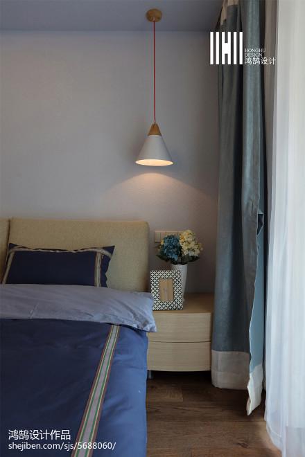 精选三居卧室北欧实景图片