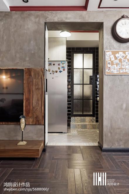 2018大小89平混搭二居客厅效果图片