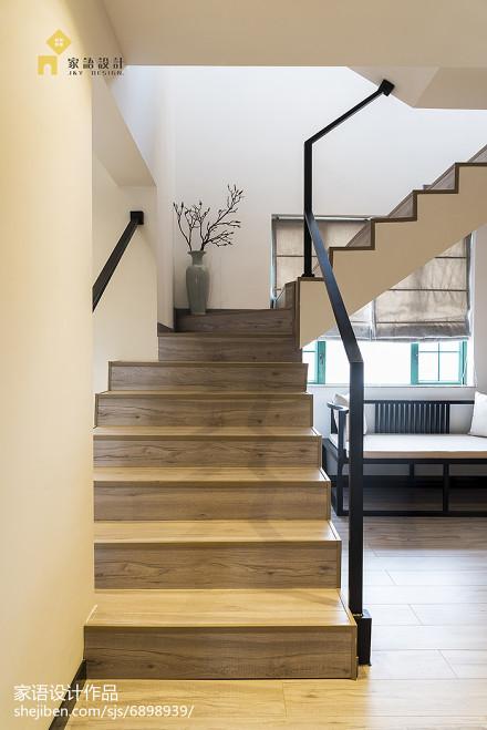 中式风格复式楼梯设计