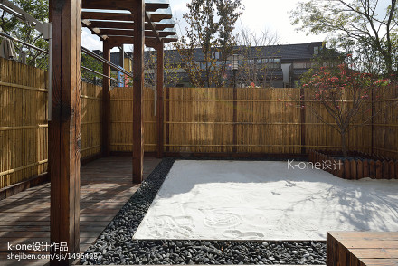 142平米日式别墅花园实景图片