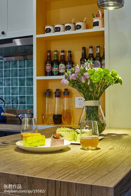 201872平米二居餐厅北欧装修实景图