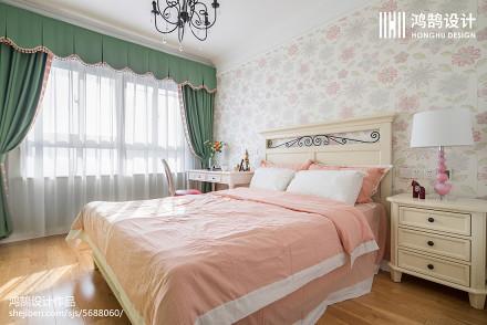 热门109平米三居儿童房美式效果图片大全