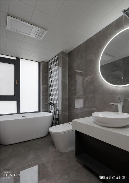 温馨100平混搭四居卫生间装修设计图